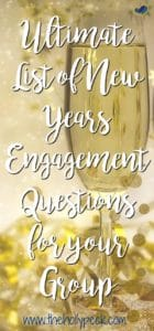New Year Engagement Pin