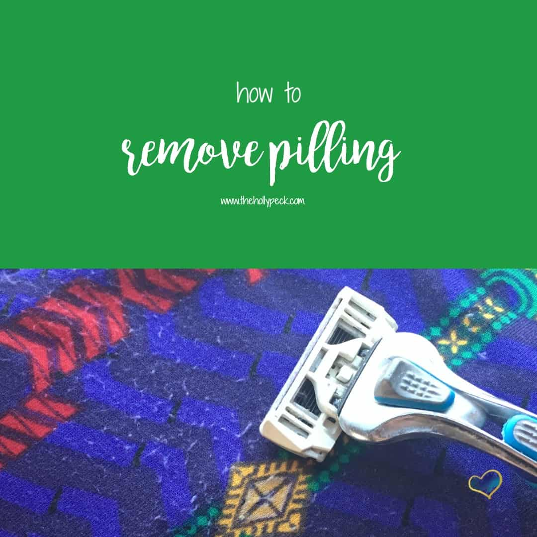 How to Remove Pilling from LuLaRoe Clothing