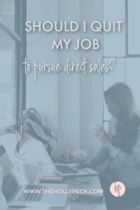 quit job direct sales