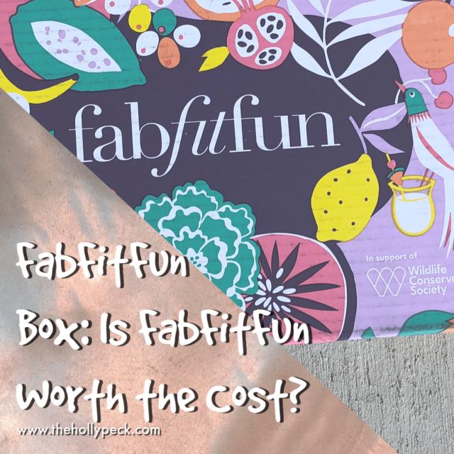 FabFitFun Box: Is FabFitFun Worth the Cost?