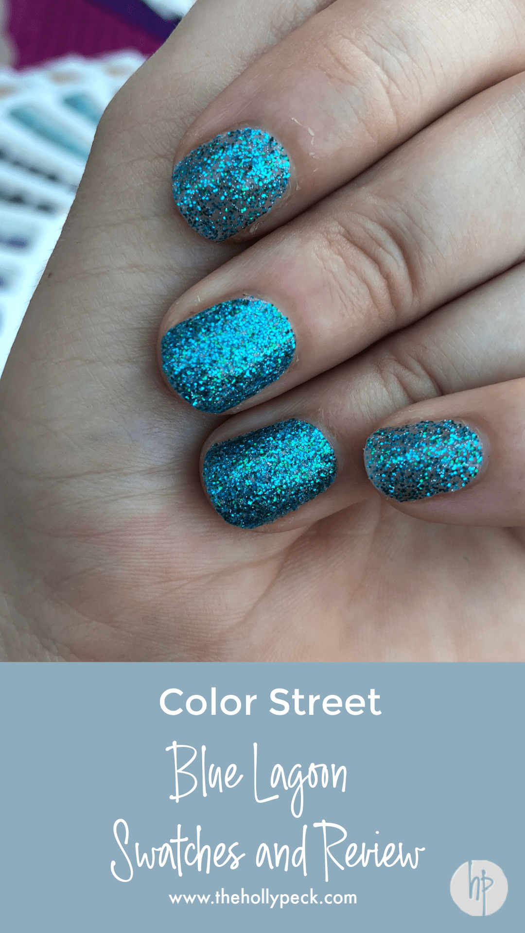 color street blue lagoon nail polish