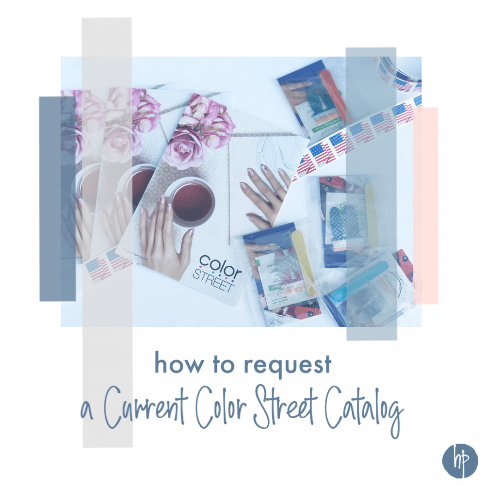 How to Request a Current Color Street Catalog