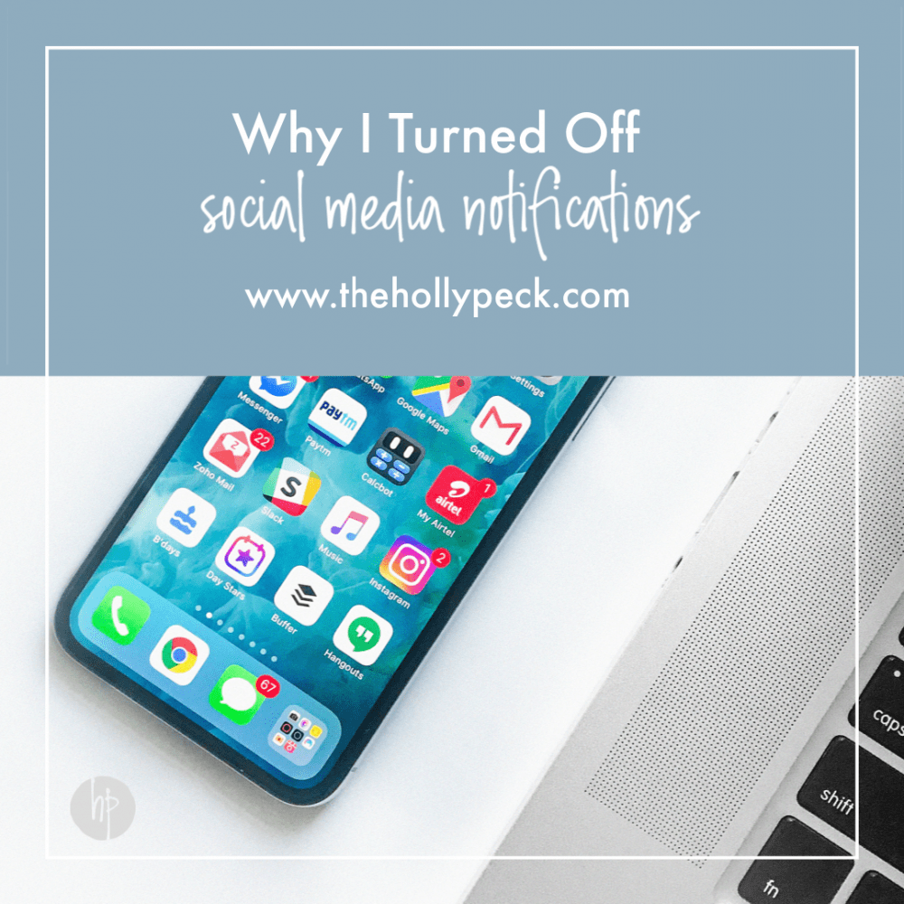 Why I Turned off Social Media Notifications
