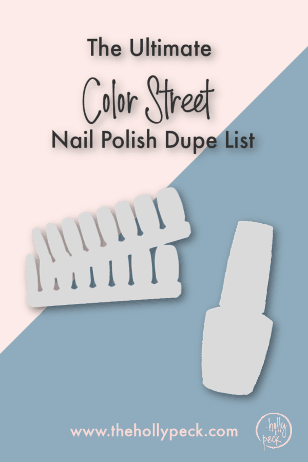 color street nail polish dupe list
