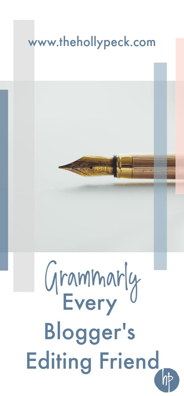 grammarly edit pen