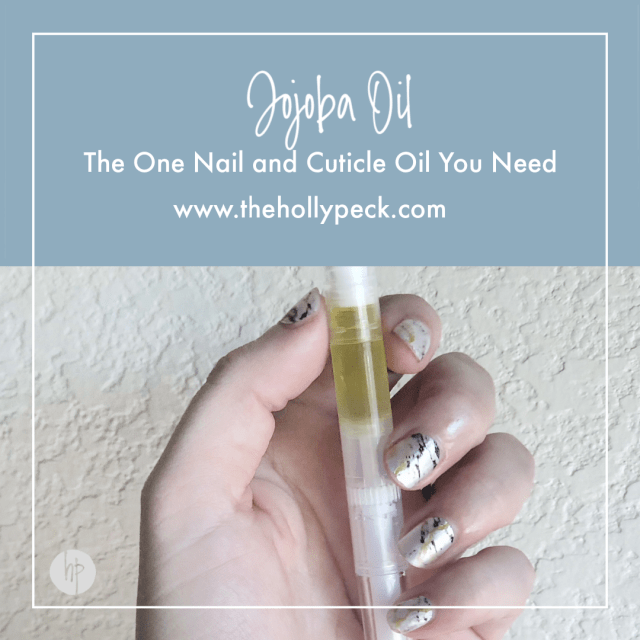 Jojoba Oil: The One Nail and Cuticle Oil You Need