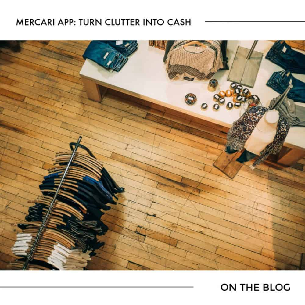 Mercari App: Turn Clutter into Cash