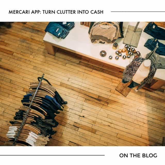 Mercari App: Turn Clutter into Cash